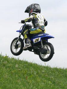 enfant moto cross